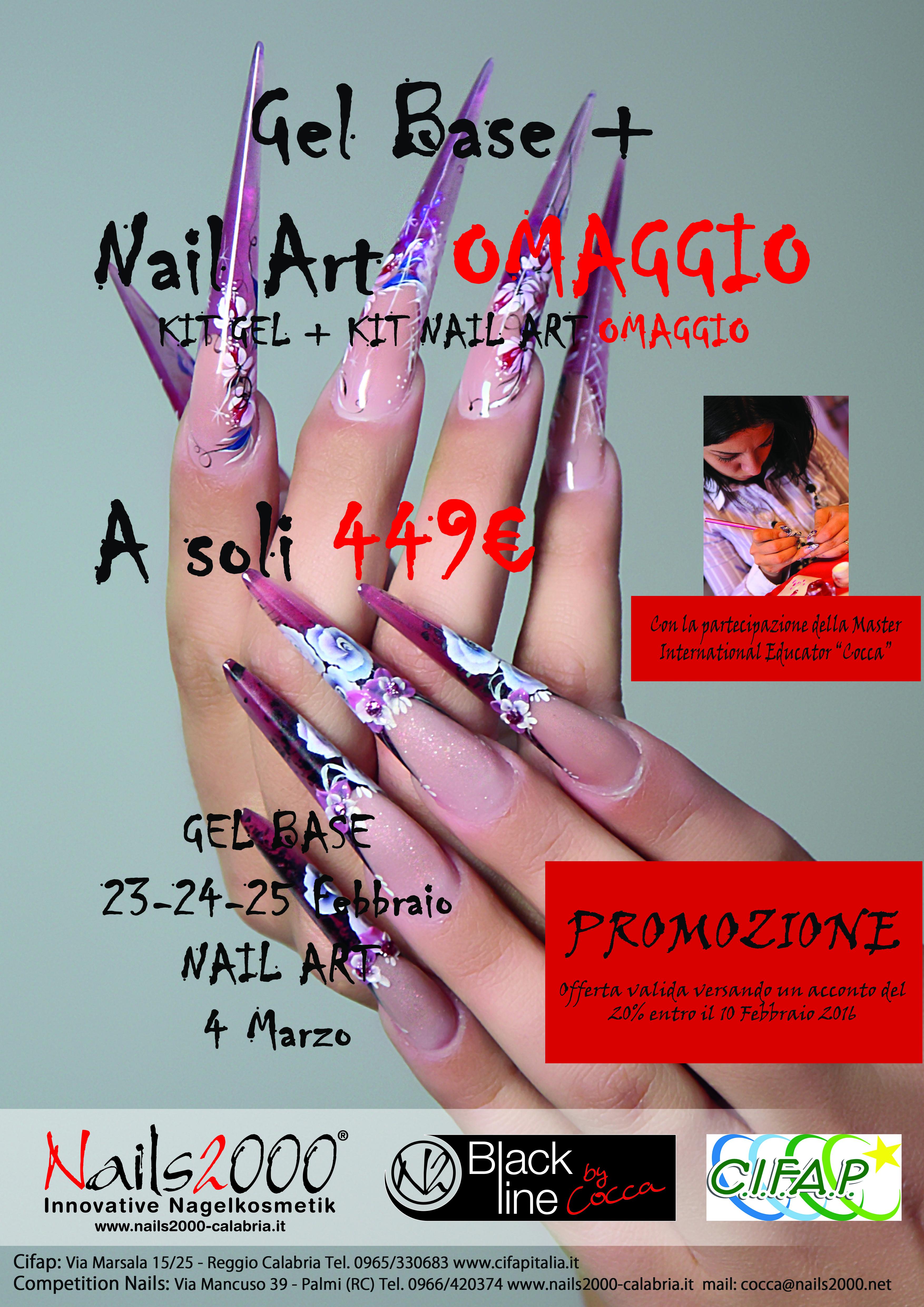 CORSO GEL BASE+NAIL ART